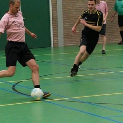 Zaalvoetbal 7 december 2015