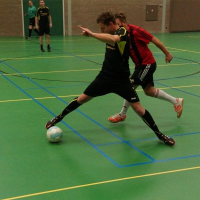Zaalvoetbal 23 november 2015